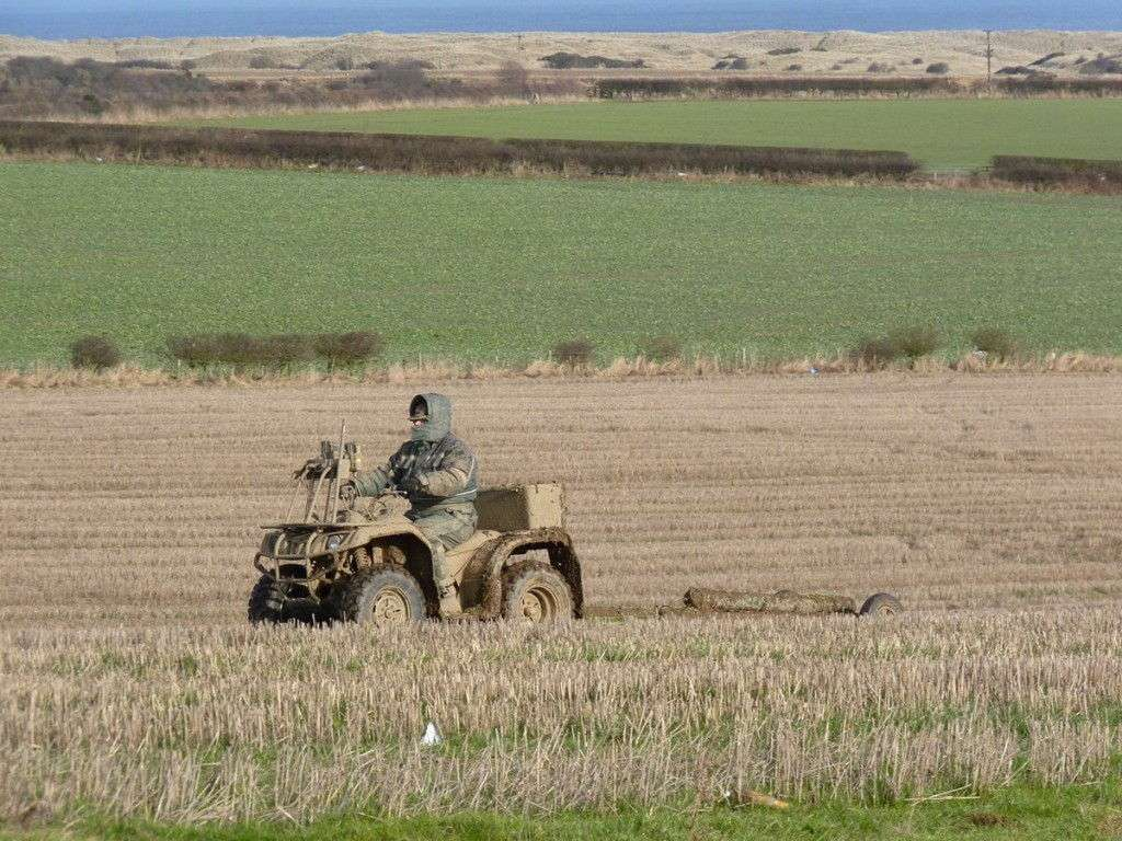 precision farming and sampling northumberland UK