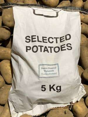 5kg bag of potatoes